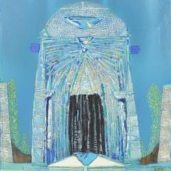 Пътя към храма избрах / Causeway chosen / 1993 / 56/60cm