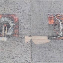 Докосване / Touch / 2010 / 120x30cm