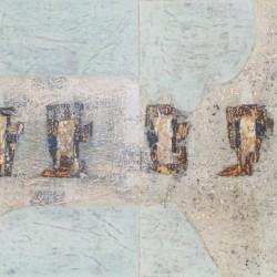 Мраморно обкръжение / Marble surroundings / 2004 / 120x60cm