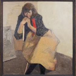 Дамски портрет / Portrait of a Lady  / 1984 / 66x70cm